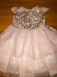 4T Rare Editions Blush Dress