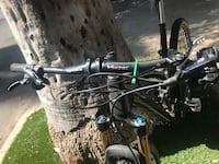 Black and gray hardtail mountain bike Los Angeles, 91604