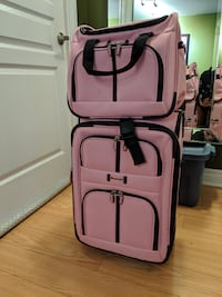 Pink suitcase + bag BRAND NEW Toronto