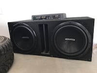 (2) 12in kennwood subs and 100w amp East Wenatchee, 98802