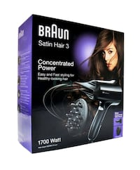 Braun satin hair dryer Greater London, E13 8HT