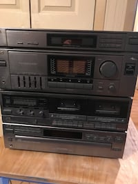 Black jvc stereo stack system Hillsborough, 08844