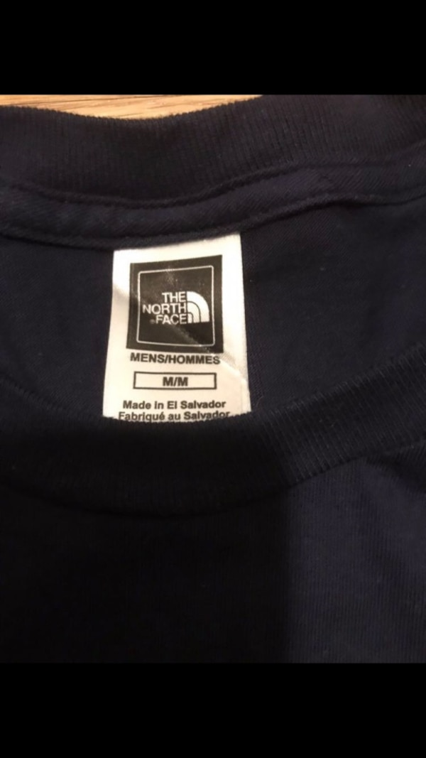 North face cotton tshirt. 1