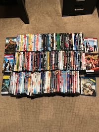 Dvd collection (150)