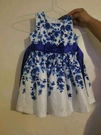 white and blue floral sleeveless dress Martinsburg, 25401