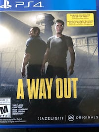(A way out) for ps4
