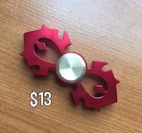 red Horde-icon two-bladed fidget spinner Baltimore, 21214