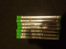 Xbox one games (works well)