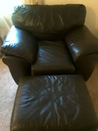 Leather Chair and Ottoman Rockville, 20851