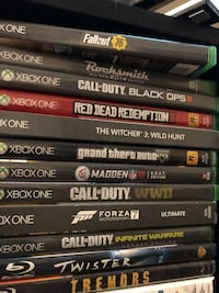 Xbox one games red dead redemption call of duty fallout and more Las Vegas, 89129