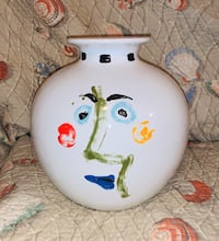 Picasso 1963 Living Face(1996 Succession Series) Vase