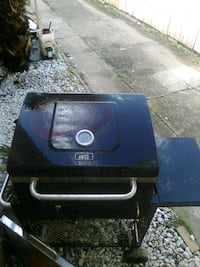 black and blue Coleman gas grill Galveston, 77551
