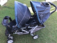 baby's black and gray tandem stroller Los Angeles, 90061