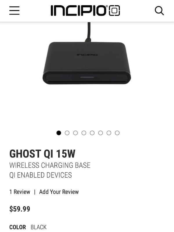 Wireless charger 15 watt triple coil fastest wireless charger on the market