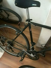 black and gray hardtail mountain bike Roseville, 55113