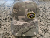 Rusty Wallace/Wood Brothers Autographed Hat 750 mi