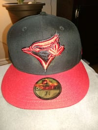 red and black Toronto Blue Jays fitted cap Toronto, M8V 1Y1