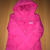 Rosa cappotto hollister