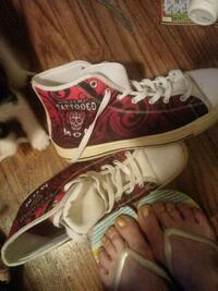 Converse All Star high-top sneakers tatooed moms Homosassa, 34448