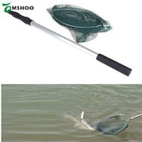 Brand New Aluminum Handle 2 In1 Fishing Net With Extending Pole  New Westminster