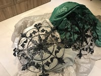$25 for both black metal decoration Laval, H7G