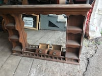 Wood mirror dresser top Syracuse, 13214