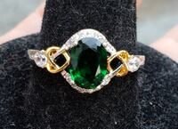 2CTW Genuine Oval Cut Emerald ring  Baltimore, 21224