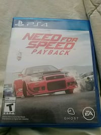 Sony PS4 Need for Speed Rivals game case Calgary, T2E 8G1