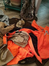 Hunting Gear backpack, vest, coveralls etc  Sioux Falls, 57104