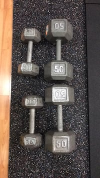 50s Cast iron dumbbells for sale! Brampton, L6Z 4V9