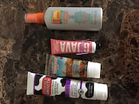 Assorted hand creams and bug repelant Edmonton, T5T 2W6