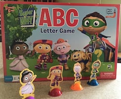 Super Why ABC Letter Game | Age 3+