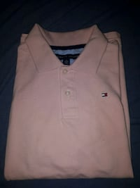Pink Tommy Collared Shirt