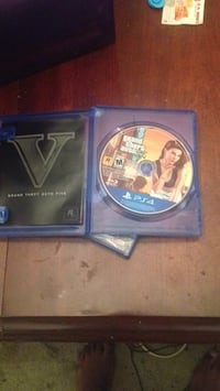 Grand Theft Auto Five PS4 game disc Lafayette, 70501