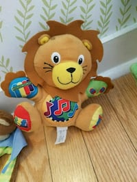brown lion plush toy Jersey City, 07306