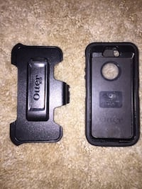 Used Otterbox case with Belt holster