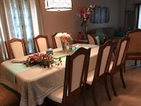 Dining Table & Six Solid Wooden Chairs For Sale Ajax, L1T 3Z9