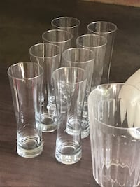 clear glass pitcher and drinking glasses Terrell, 75160