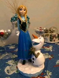 Frozen Anna and Olaf Disney Gnome Factory 2014 Figure 12 Whitchurch-Stouffville, L4A 0J5