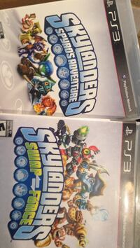 Two Skylanders Sony PS3 game cases null, T0B