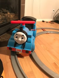 Power wheels Thomas ride on train Edmonton, T5X 6J6