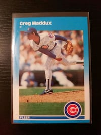Greg Maddux Rookie Card - Free Shipping