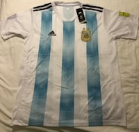 White and blue Argentina mundial 2018 jersey shirt Miami, 33126