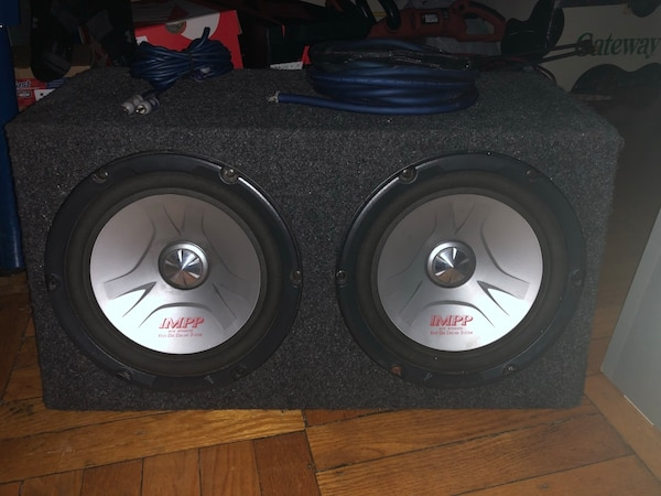 Subs with amp