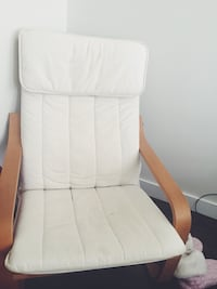 White and brown wooden armchair Calgary, T2A 1L1