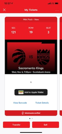 Raptors Tickets Toronto, M8W 3E4