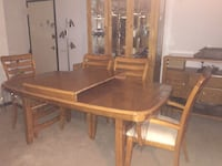 Dining room set Washington