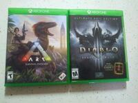 two Xbox One game cases Fort Pierce