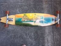 """40"""" Sector Nine longboard with Gull Wing Double Lifted Trucks!"""