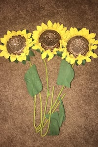 Sparkly sunflowers